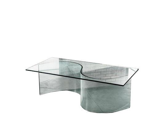 Duzzle Tavolino da salotto in Vetro Incanto