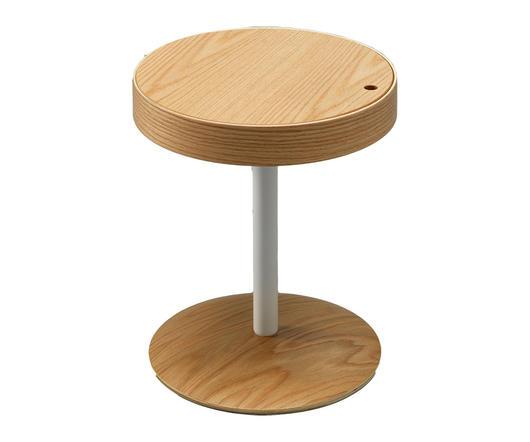 Twist Design Tavolinetto con contenitore Sirio Marrone