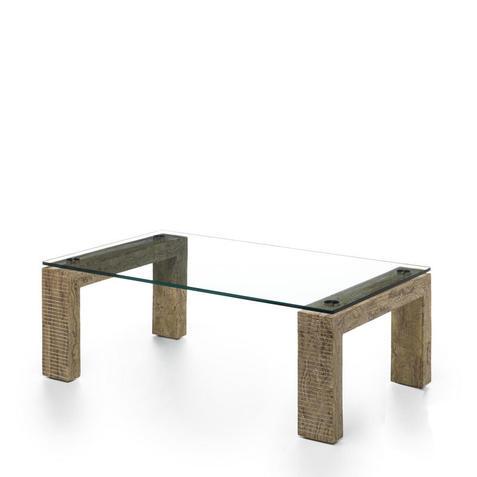 Stones Tavolino da salotto Millerighe wood stone