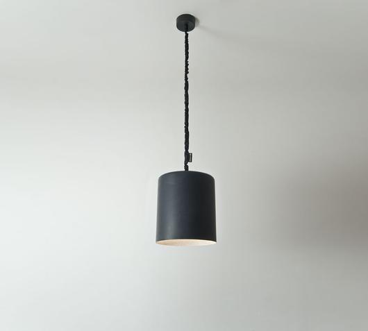 In-es.artdesign Lampadario Bin Lavagna nero/bianco