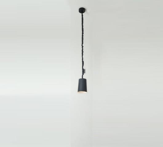 In-es.artdesign Lampadario Paint Lavagna nero/bianco