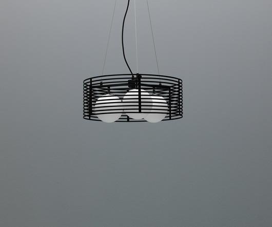 Twist Design LAMPADARIO IQUITOS NERO