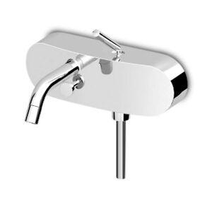 Zucchetti Isy Miscelatore A Parete Per Vasca/doccia Con Aeratore/deviatore/doccetta Codice Prod: Zp1148