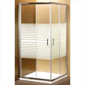 ponsi gold angolo 68/70 88/90 serig cromo 2 ante scorrevoli cristallo - box doccia 70 x 90 codice prod: bbgols7090