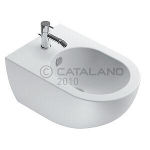 Ceramica Catalano Sfera 54 Bidet Sospeso 1foro Bm Bianco Satin Senza Fissaggi Codice Prod: 1bsf54bm