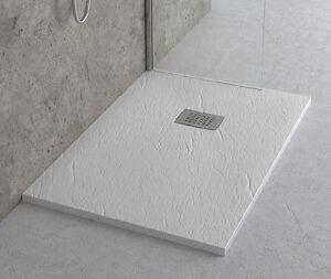 Scelto Da Desivero Mineral Piatto Doccia Bianco 90x90 Piattoh3 Con Piletta/griglia Pietra Natur Codice Prod: Dsv16524bi