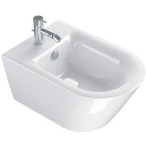 Ceramica Catalano Zero 55 Bidet Sospeso Soft 1 Foro Senza Fissaggi Bianco Codice Prod: 1bs55nr00