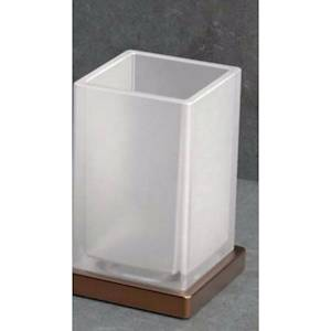 Colombo Design Look B1641 Porta Bicchiere Appoggio Vintage Mat /vetro Acidato Codice Prod: B16410vm-Van