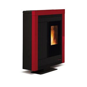 Extraflame Souvenir Steel 001275750 Stufa A Pellet Kw 11 Bordeaux Codice Prod: 001275750