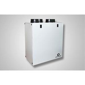 Aerauliqa Qr350abp Vmc Canalizzata 2flussi Vert Par Con Recuperatore Statico 327m3/h W325 Codice Prod: Vmcons1139