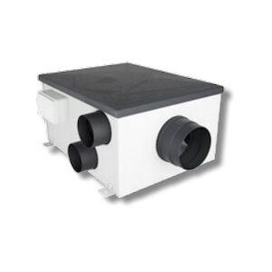 Aerauliqa Qcmev80hy Unita'Vmc Canalizzata 4att D80 Instal Soffitt/pav Con Controllo Umidita' Codice Prod: Vmcons1550
