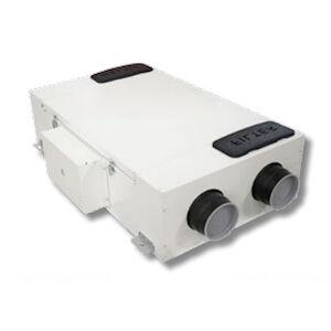 Aerauliqa Qr230e Vmc Canalizzata 2flussi Orizz Con Recuperatore Entalpico 202m3/h W114 Codice Prod: Vmcons1411