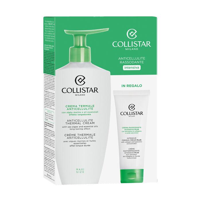 collistar kit speciale corpo perfetto crema termale anticellulite 400 ml + crema rassodante intensiva plus 75 ml