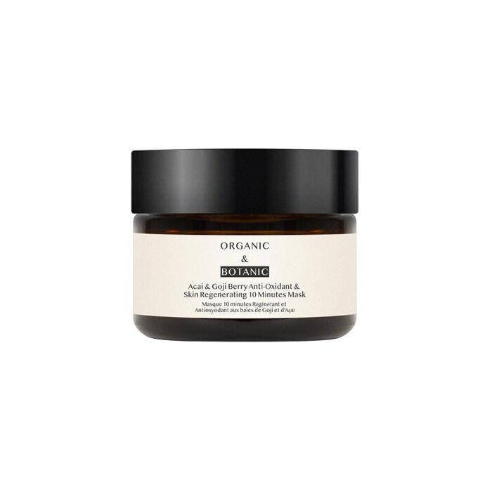 organic & botanic acai & goji berry anti-oxidant & skin regenerating 10 minutes mask 50 ml