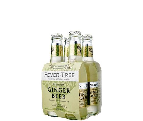 FEVER TREE Premium Ginger Beer Cl.20 Conf. X 4 Bot