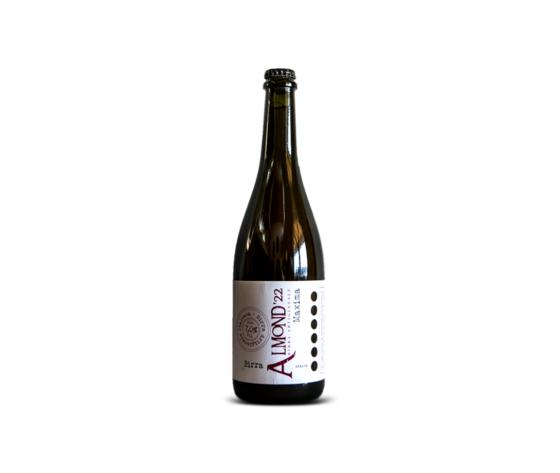 almond'22 almond'22 birra artigianale maxima cl 75 alc.7%