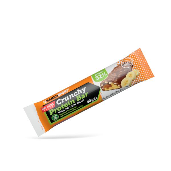 named sport crunchy protein bar choco banana 40g - 1 pezzo (973289578)