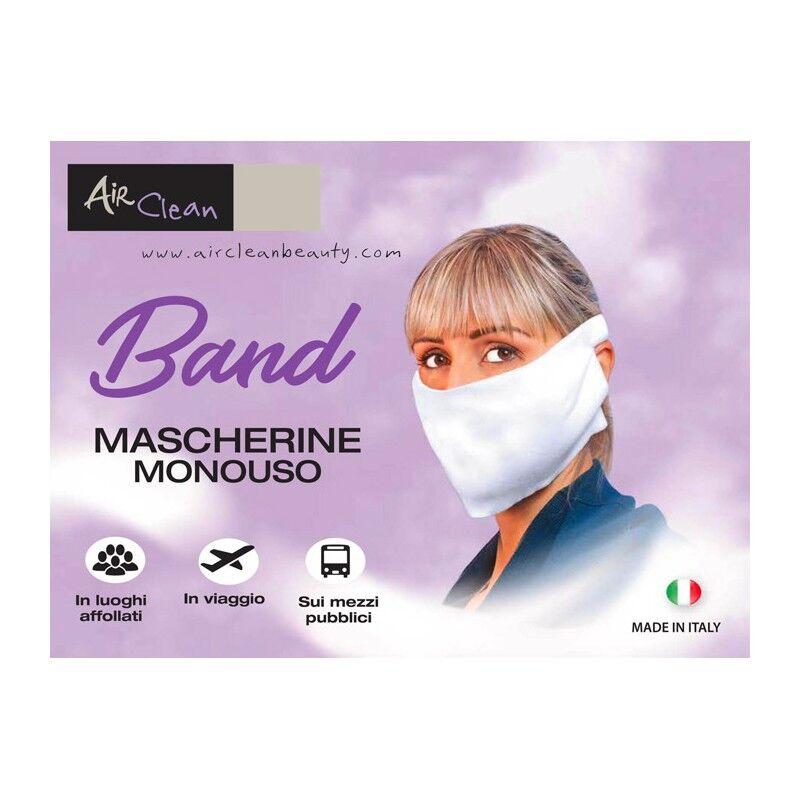 mascherina monouso band 2 veli 20pz (8012547160491)