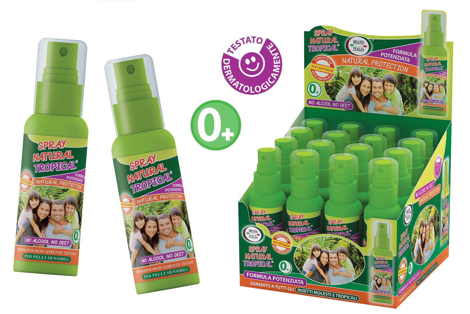 IDEE INNOVATIVE Srl Spray Natural Tropical Protezione Naturale Zanzare 100ml (974893671)