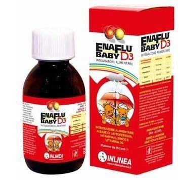 INLINEA Srl Enaflu Baby D3 150ml (941658003)