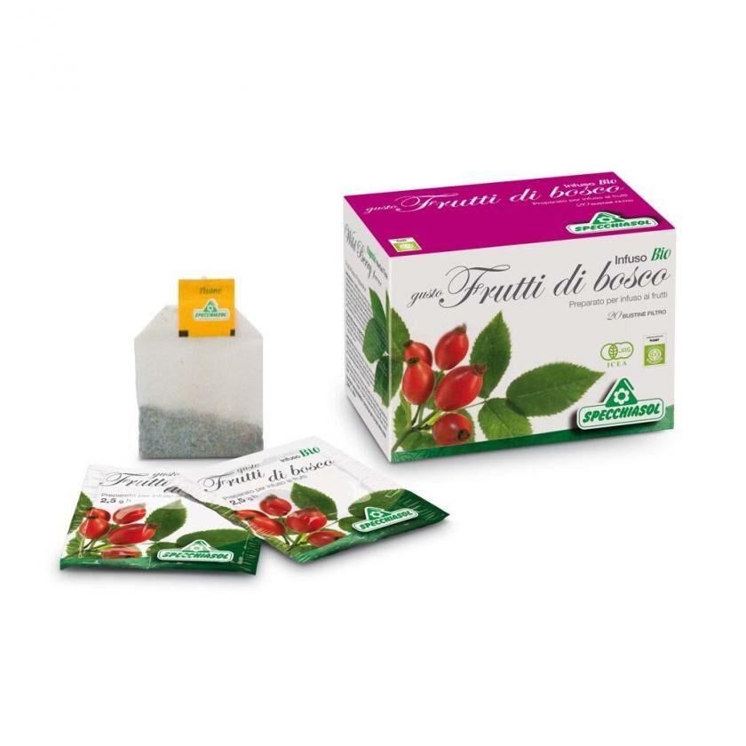SPECCHIASOL Srl Infuso Bio Frutta Bosco 20filt