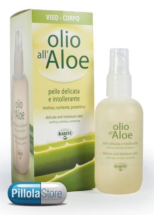 SOCIETA' del KARITE' Srl Karitè Olio All'Aloe Biologico 100ml (970303970)