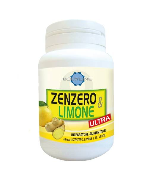 bodyline srl zenzero e limone ultra 60cps