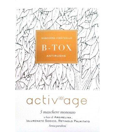 oti srl activage b tox 5 maschere viso/collo (927585467)