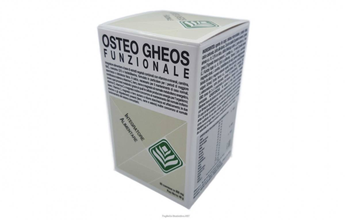 GHEOS Srl Osteo Gheos Funzionale 60cpr (970175600)
