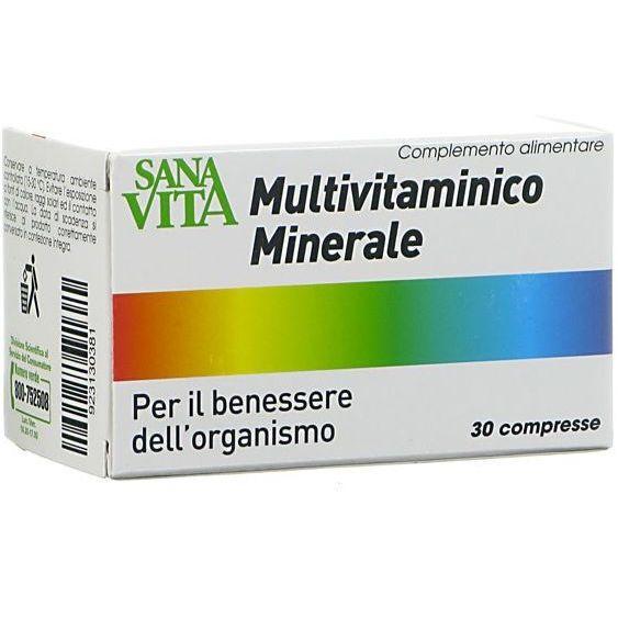 PALADIN PHARMA SpA Sanavita Multivitaminico Minerale 30cpr (923130381)