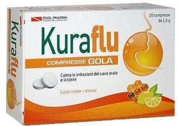 POOL PHARMA Srl Kuraflu Gola Limone/miele Cpr (933499903)
