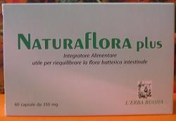 ERBORISTERIA L'ERBA BUONA Srl Naturaflora Plus 60cps (921394235)