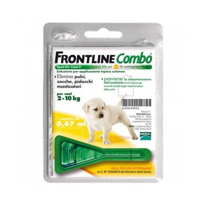 Frontline Combo*1pip 2-10kg Ca