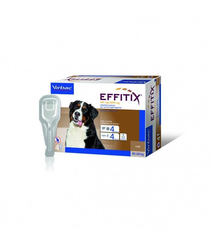 Effitix*4pip 6,60ml 40-60kg