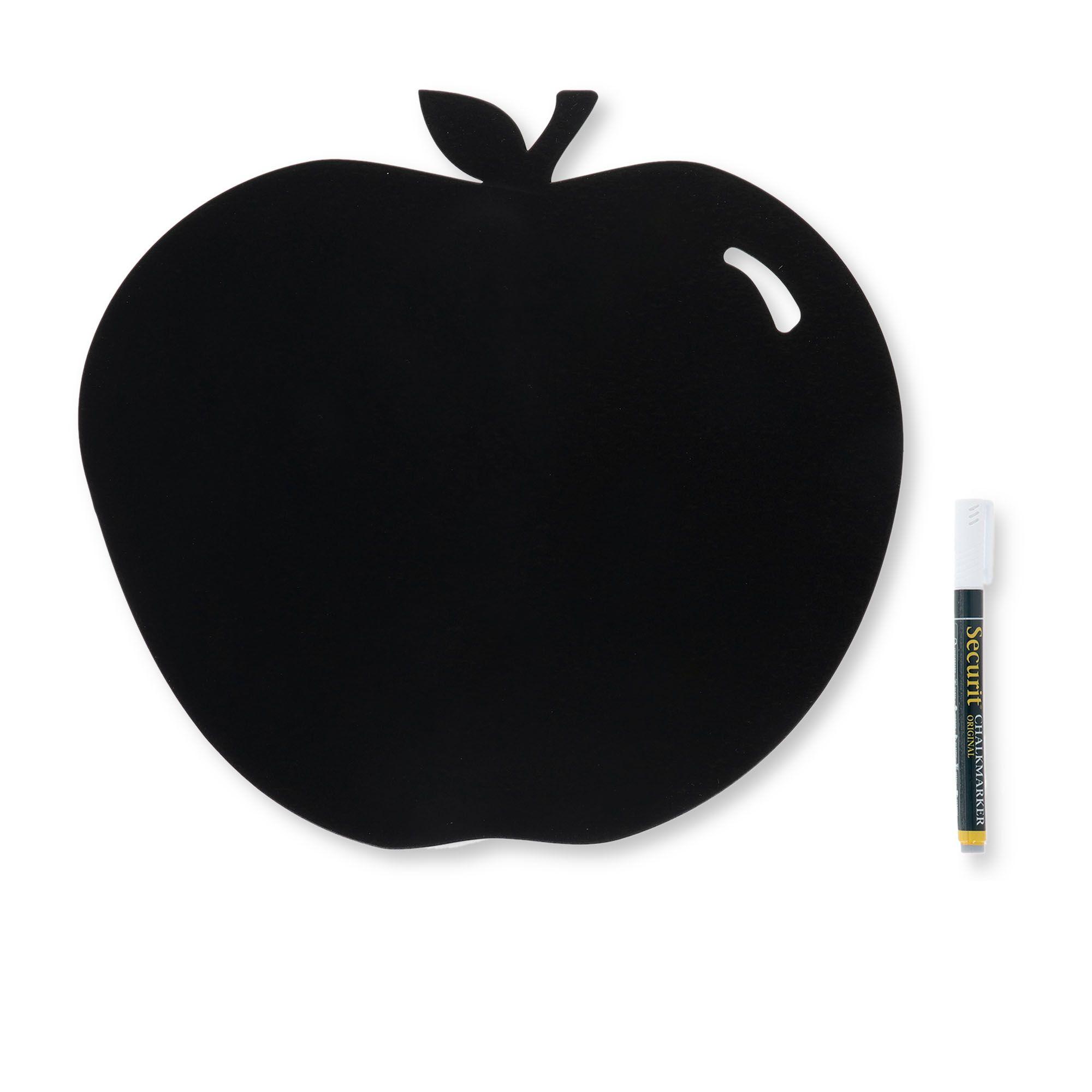 securit lavagna mela con pennarello a gello liquido e adesivi