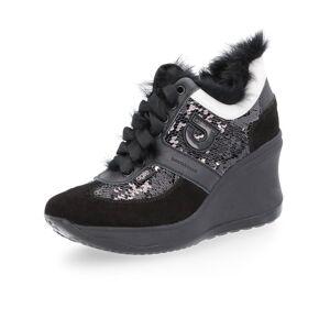 Paillettes Agile Sneaker Alta Con By E Rucoline Pelliccia XiTOZPku