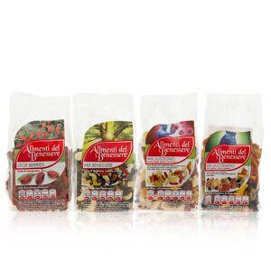 Gli Alimenti del Benessere Mix completo: 4 prodotti da 200, 250 e 300g