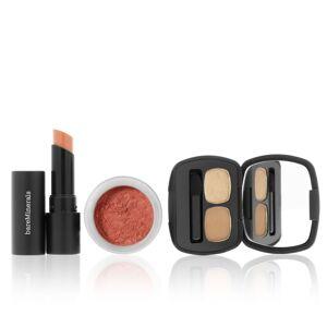 bareMinerals Beauty Resolution, palette 2 ombretti, blush e rossetto