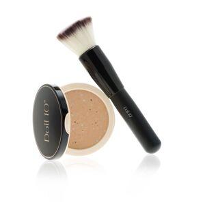 Doll10 Complete Your Complexion kit CC Powder e pennello viso (2 pz)