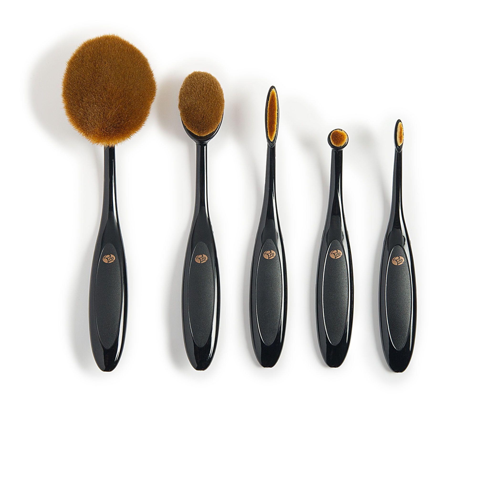 rio 5 pennelli professionali per il make up