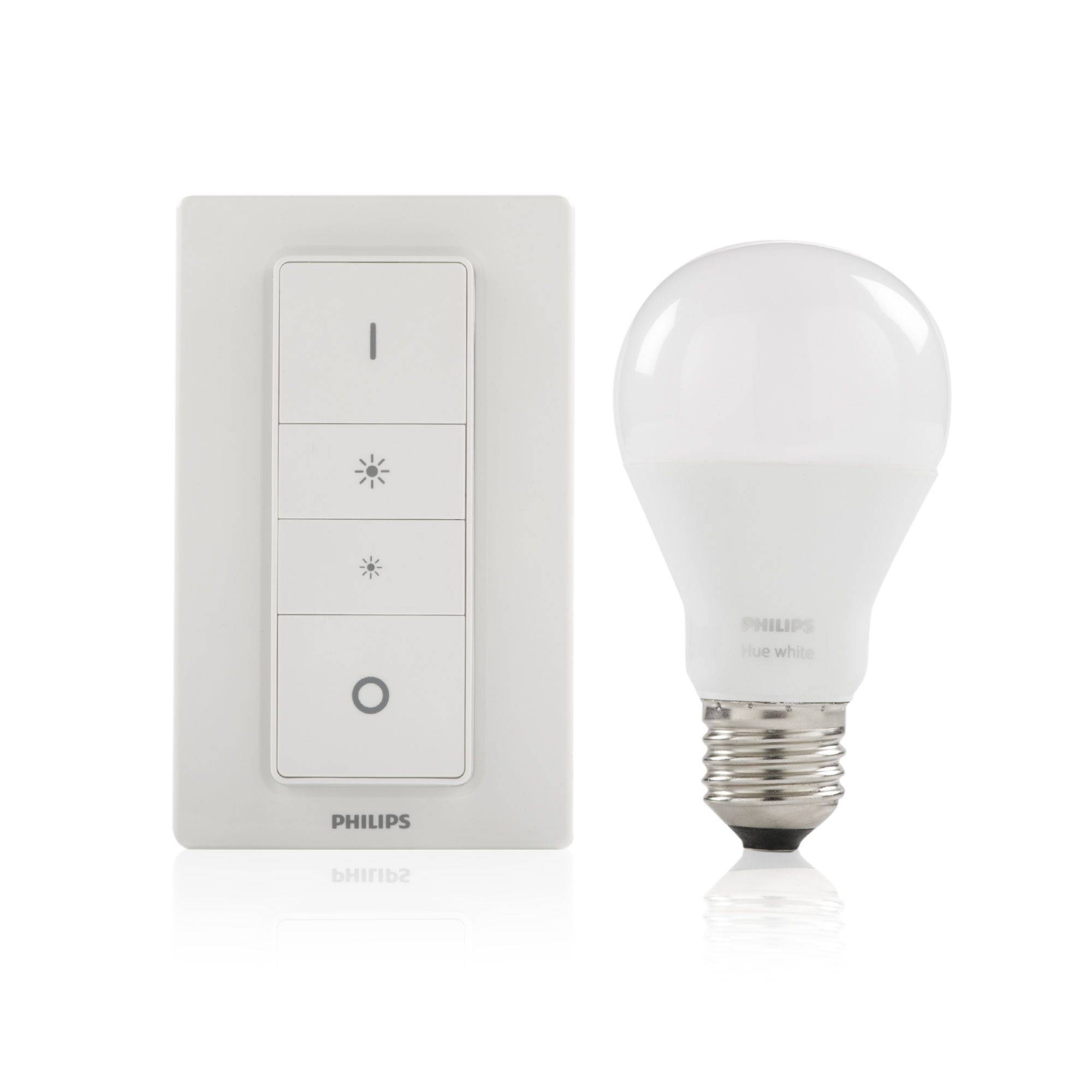 Philips Hue Dimming Kit, lampadina LED dimmerabile con telecomando