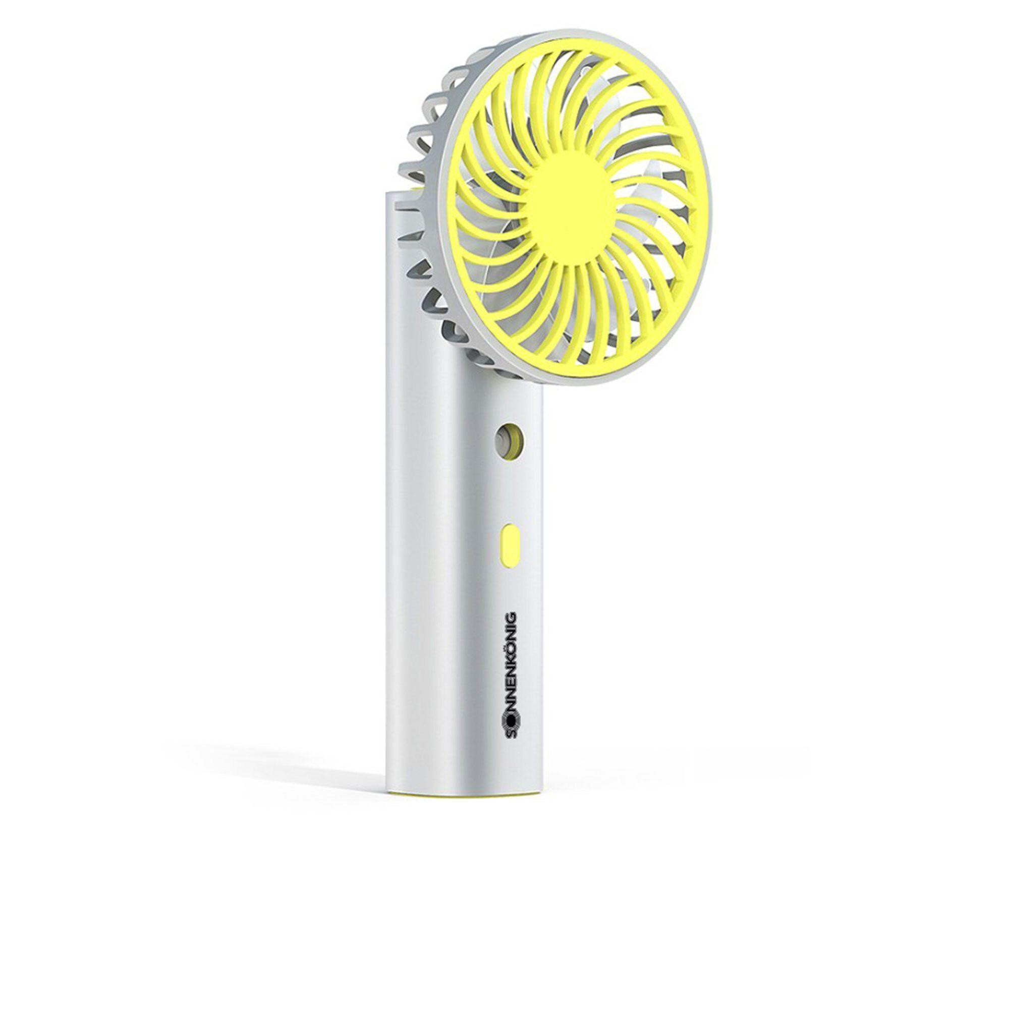 sonnenkönig air fresh mini ventilatore portatile con nebulizzatore
