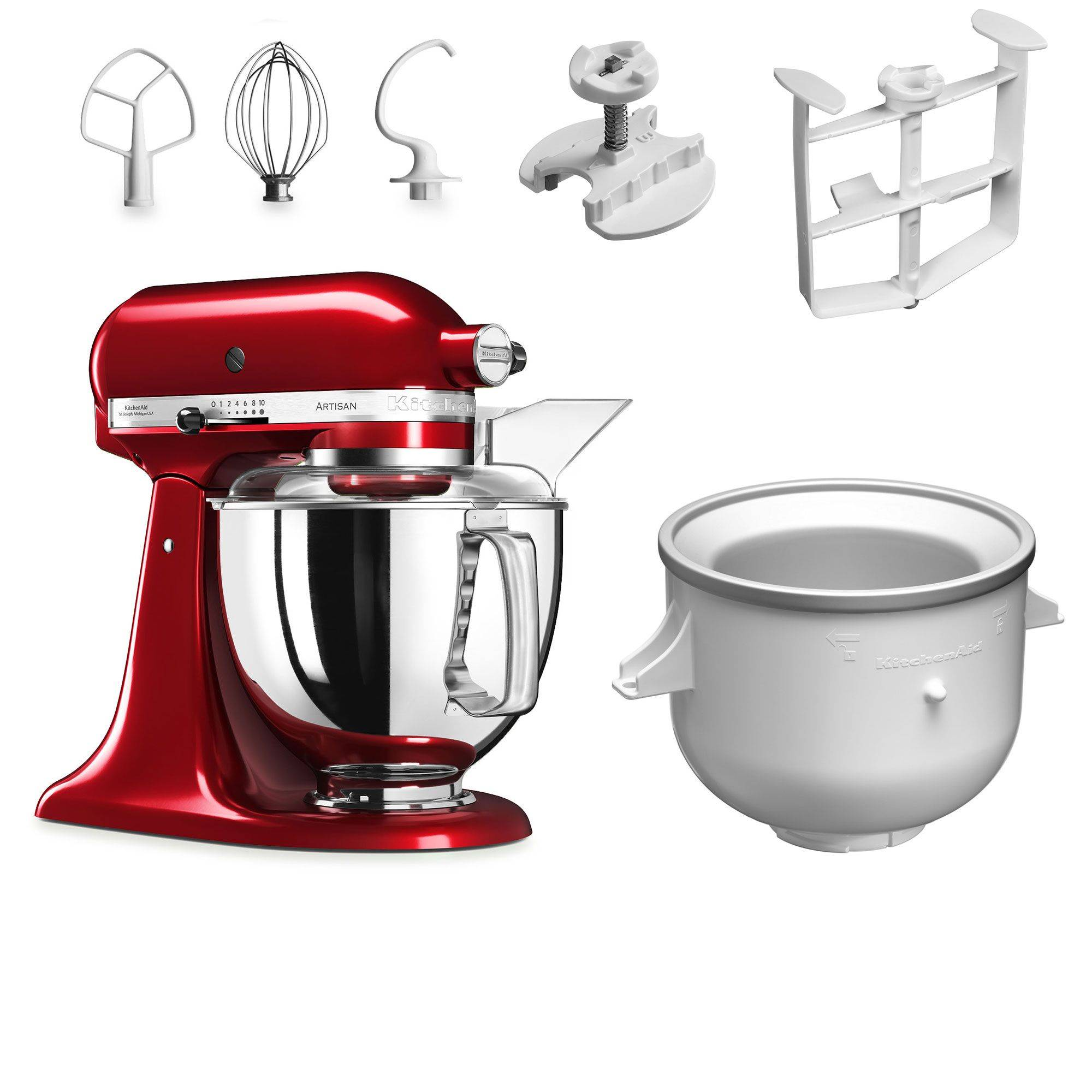KitchenAid Robot da cucina con accessorio gelatiera
