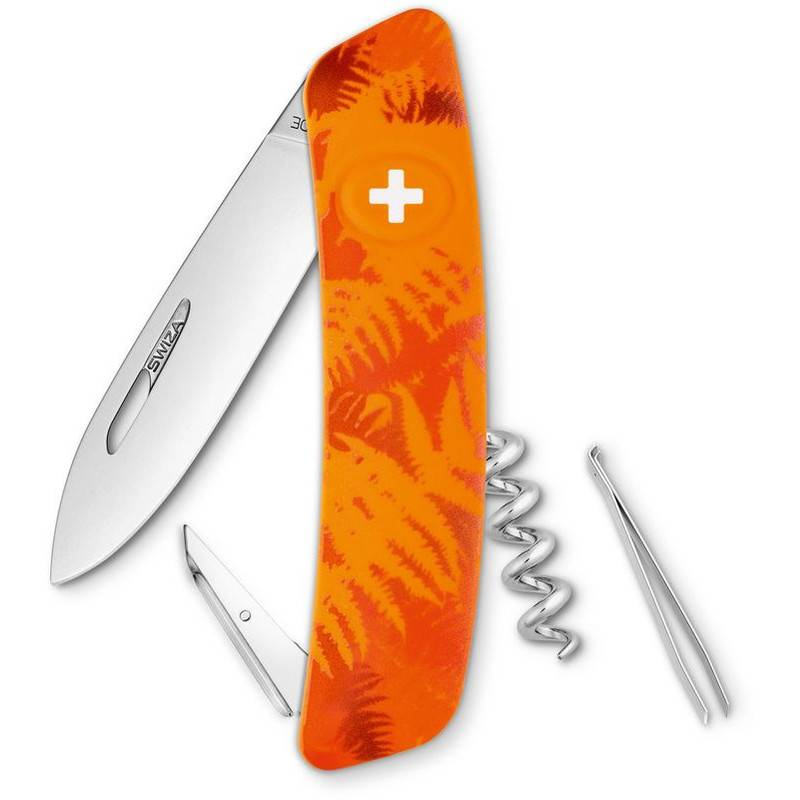 SWIZA Coltellino svizzero C01 FILIX Camo Farn Orange