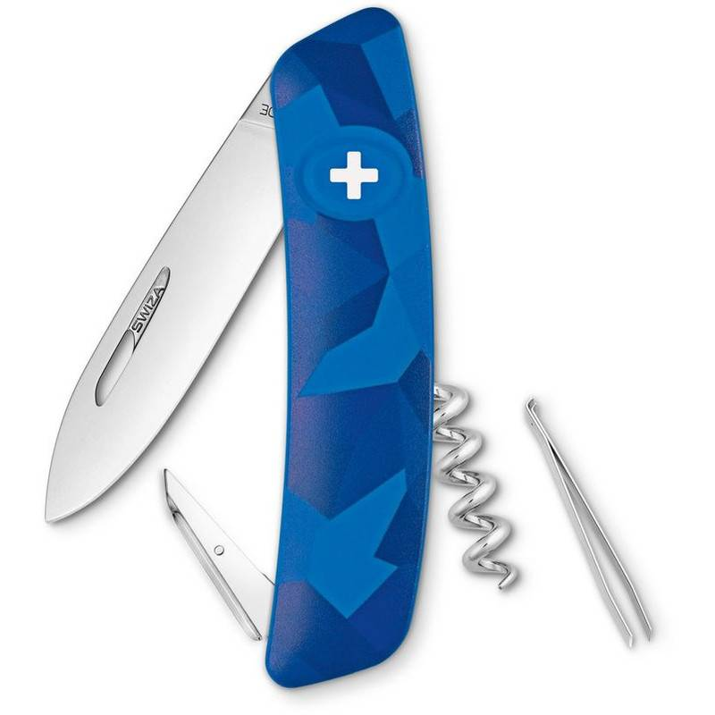 SWIZA Coltellino svizzero C01 LIVOR Camo Urban Blue