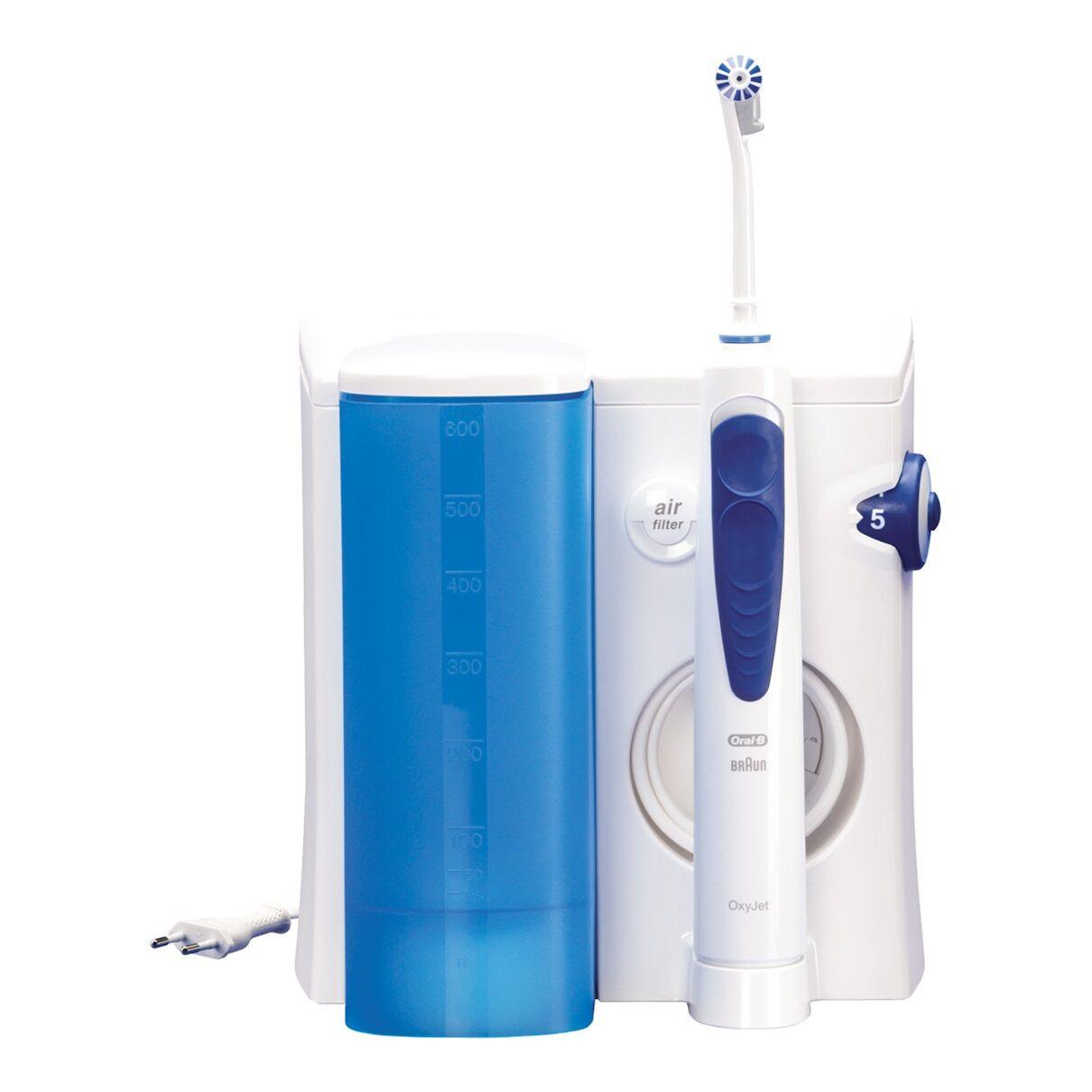 procter & gamble oral b idropulsore oxyjet md20 igiene orale + 4 beccucci
