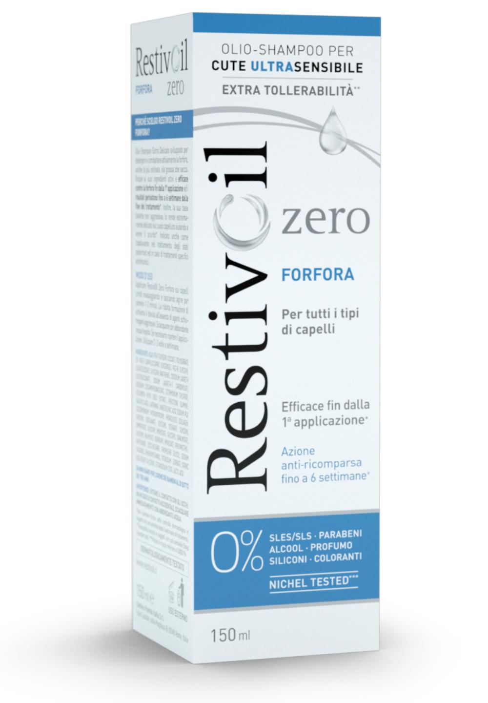 Chefaro Pharma RestivOil Zero Forfora olio shampoo fisiologico sebonormalizzante (150 ml)