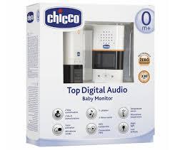 Chicco Top Digital Audio baby monitor 0+ mesi