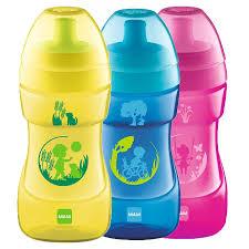 Bamed MAM Sports Cup borraccia per bambini dai 12+ mesi colori assortiti (330 ml)