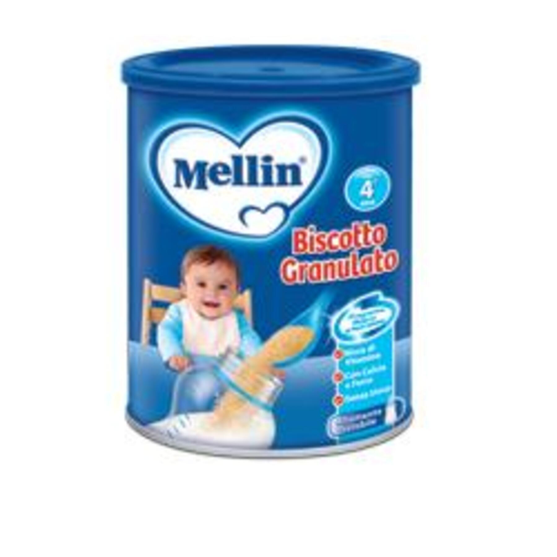 DANONE NUTRICIA SpA SOC.BEN. Mellin biscotto granulato 400 g nuovo formato